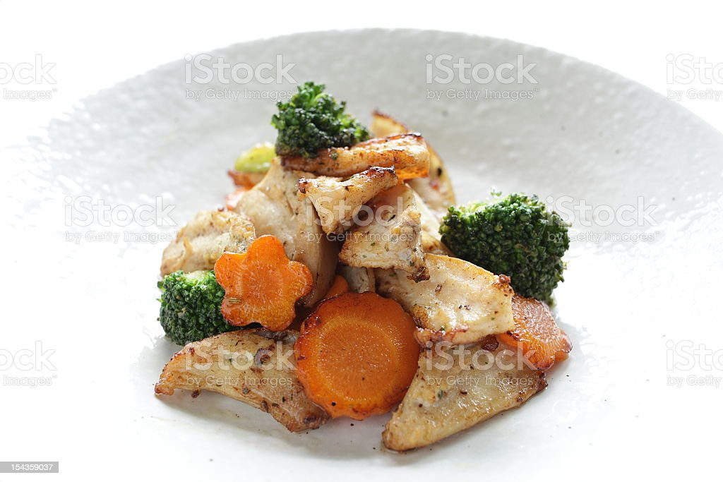 Chinese cuisine, chicken soft bone royalty-free stock photo