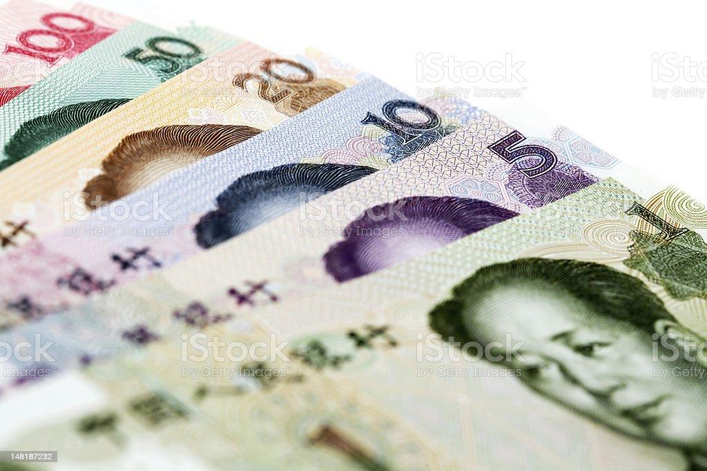 Chinesische Währung Lizenzfreies stock-foto