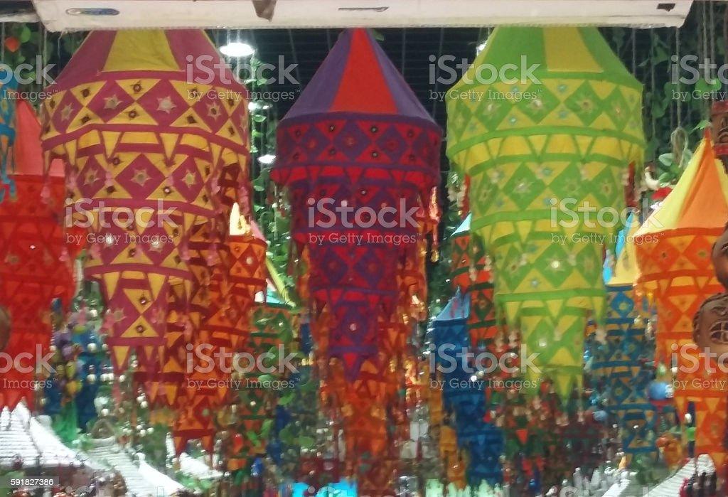 chinese decorations stock photo
