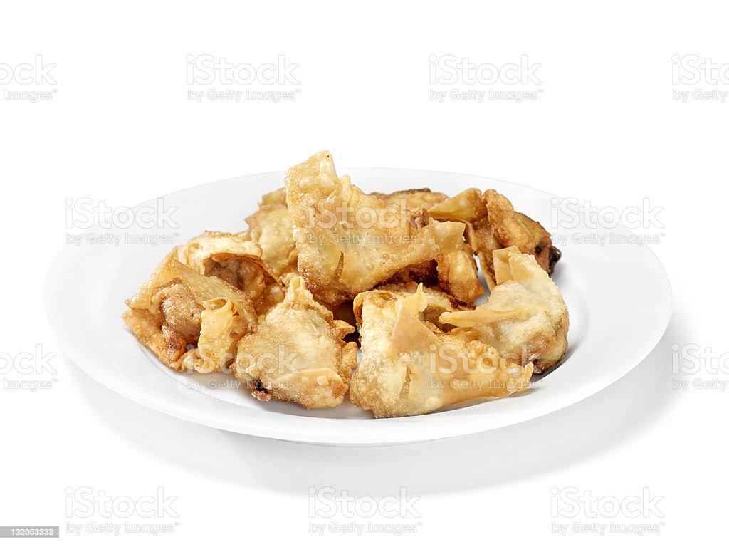 Chinese Deep Fried Wonton's stock photo