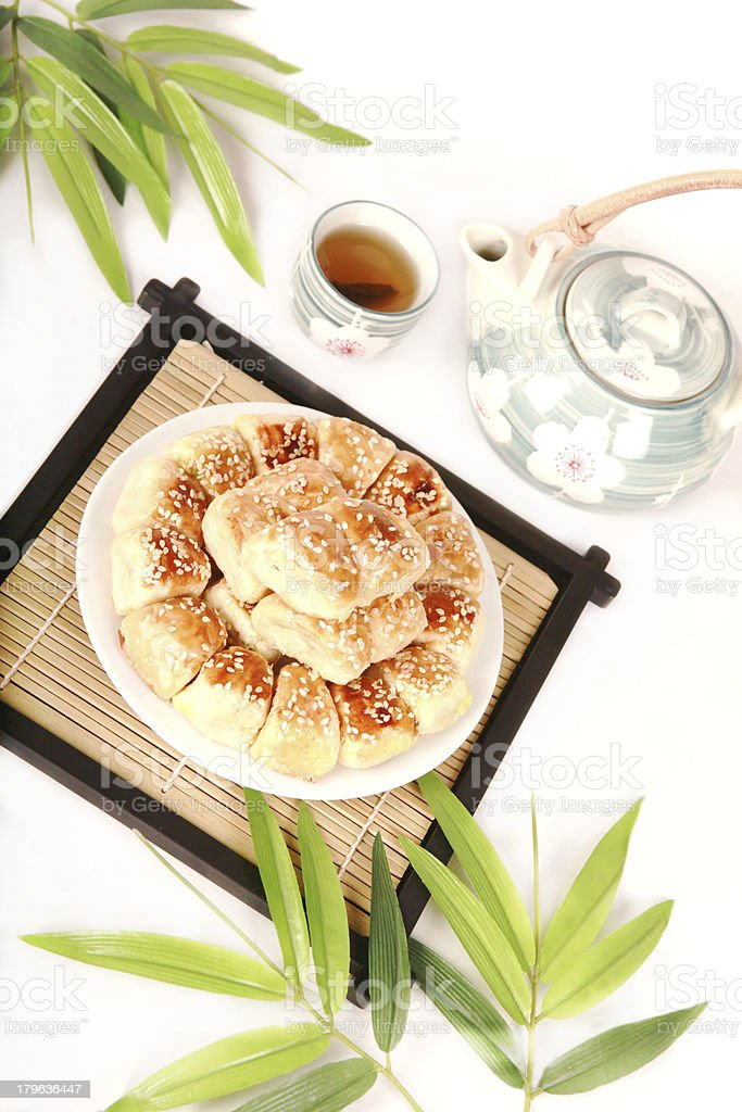 Chinese delicious dessert. royalty-free stock photo