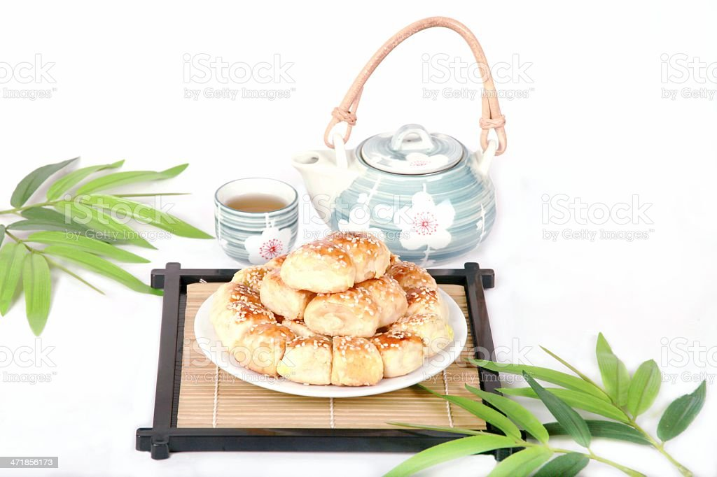 Chinese delicious dessert . royalty-free stock photo