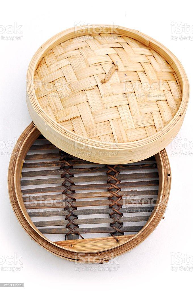 chinese dim sum bamboo steamer basket 5 stock photo