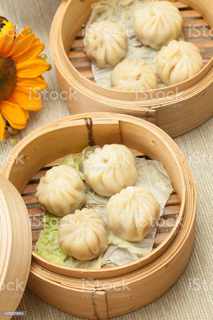 chinese dimsum stock photo