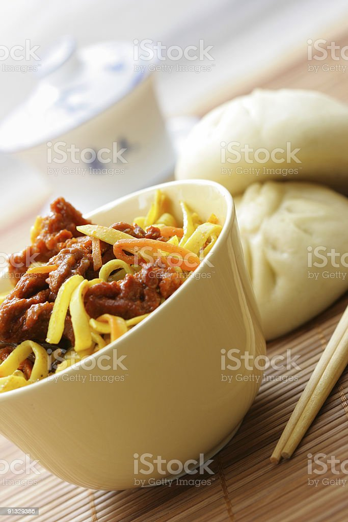 Chinese dinner royalty-free stock photo