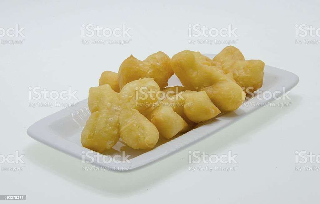 Chinese donuts royalty-free stock photo