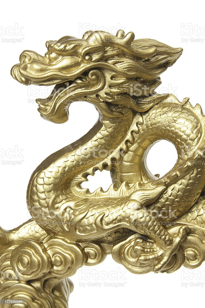 Chinese Dragon Figurine royalty-free stock photo