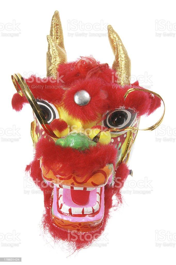 Chinese Dragon Head Ornament stock photo