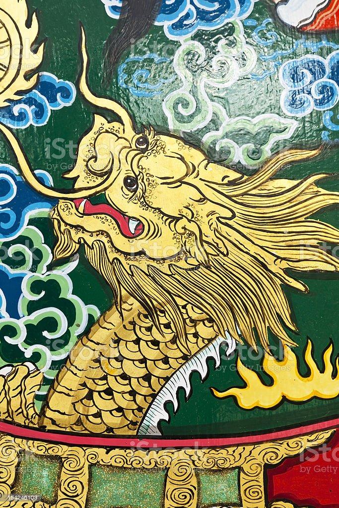 Smok chiński zbiór zdjęć royalty-free