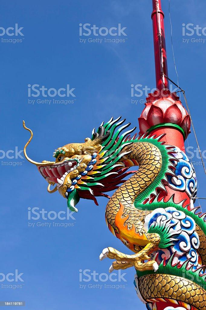 chinese dragon royalty-free stock photo