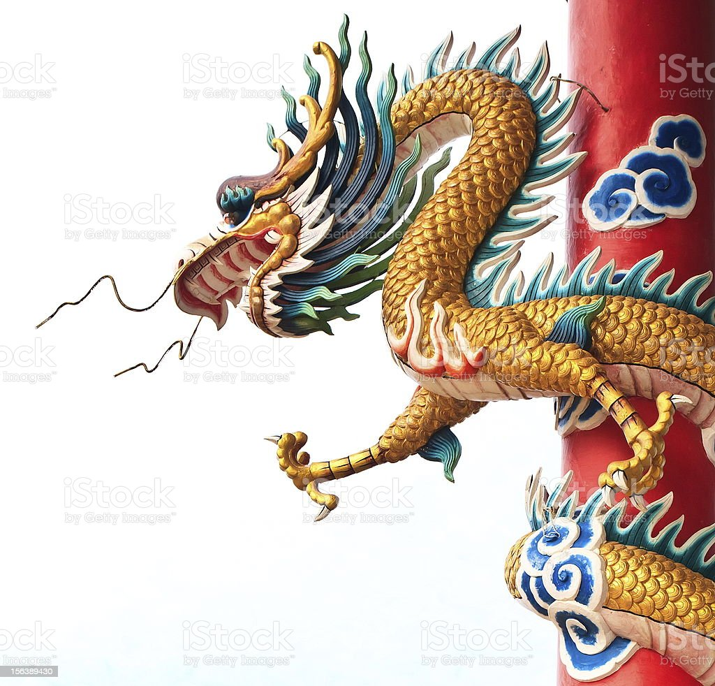 Chinese dragon symbol royalty-free stock photo