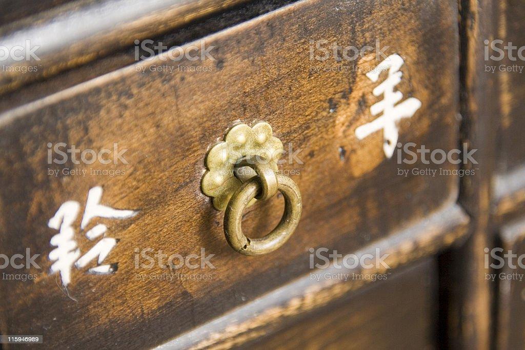 chinese drawer stock photo