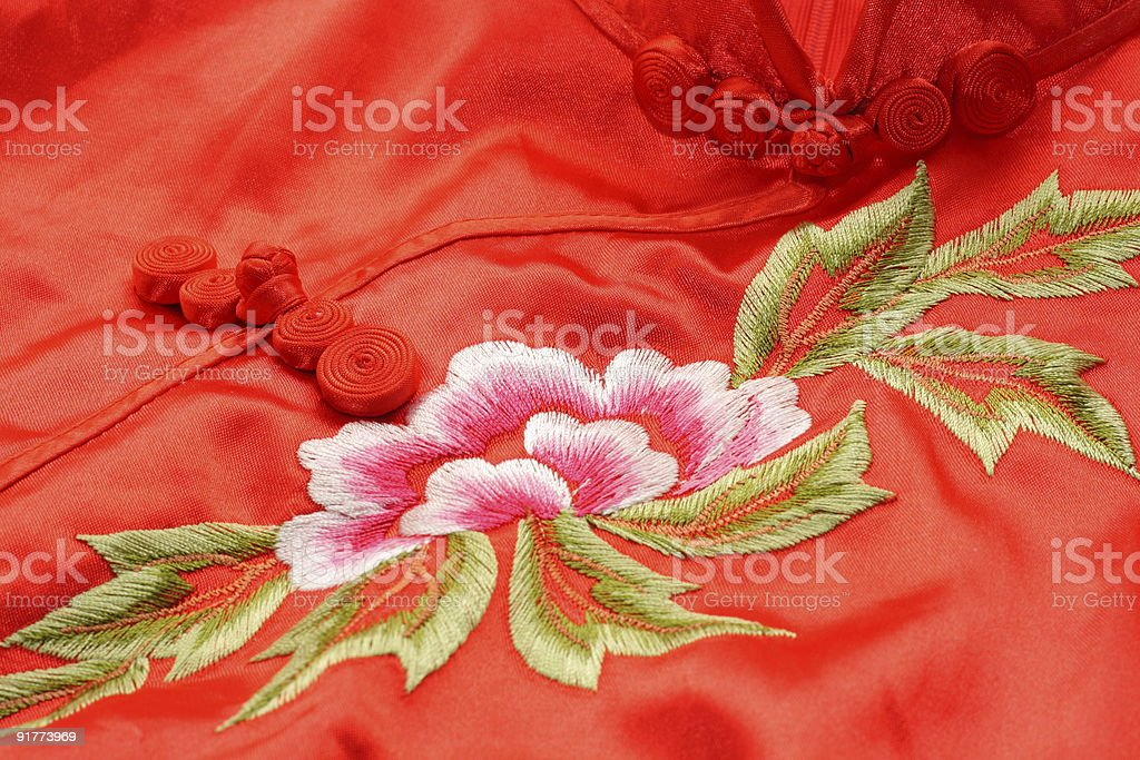 chinese dress royalty-free stock photo