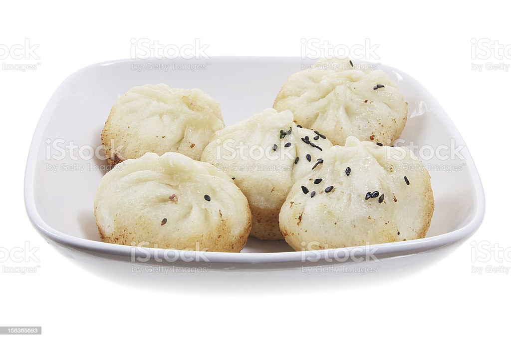 Chinese Dumplings royalty-free stock photo