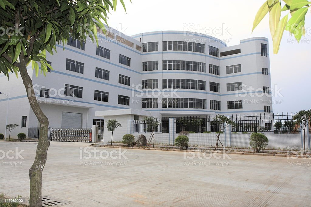 Chinese Factory royalty-free stock photo