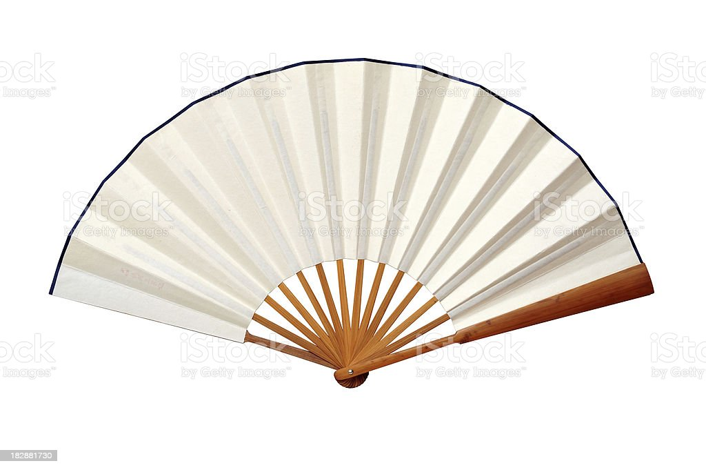 Chinese Fan-Japanese Culture-Asian Traditional Culture and Art stock photo