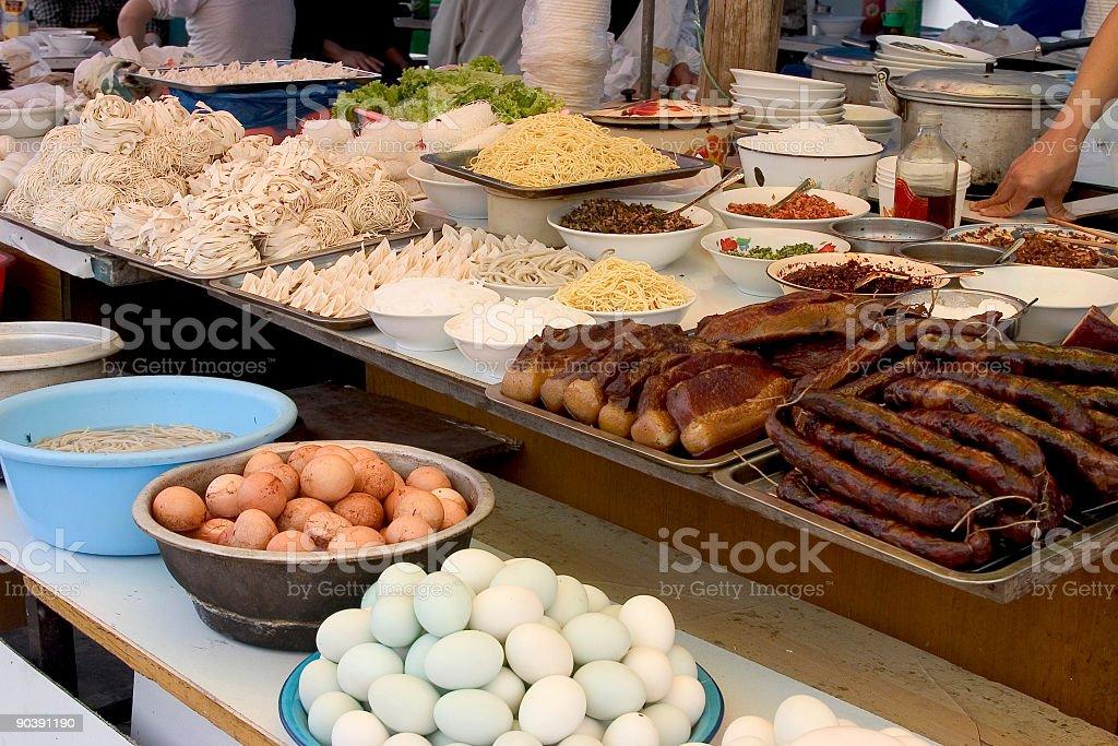 Chinese Fastfood royalty-free stock photo