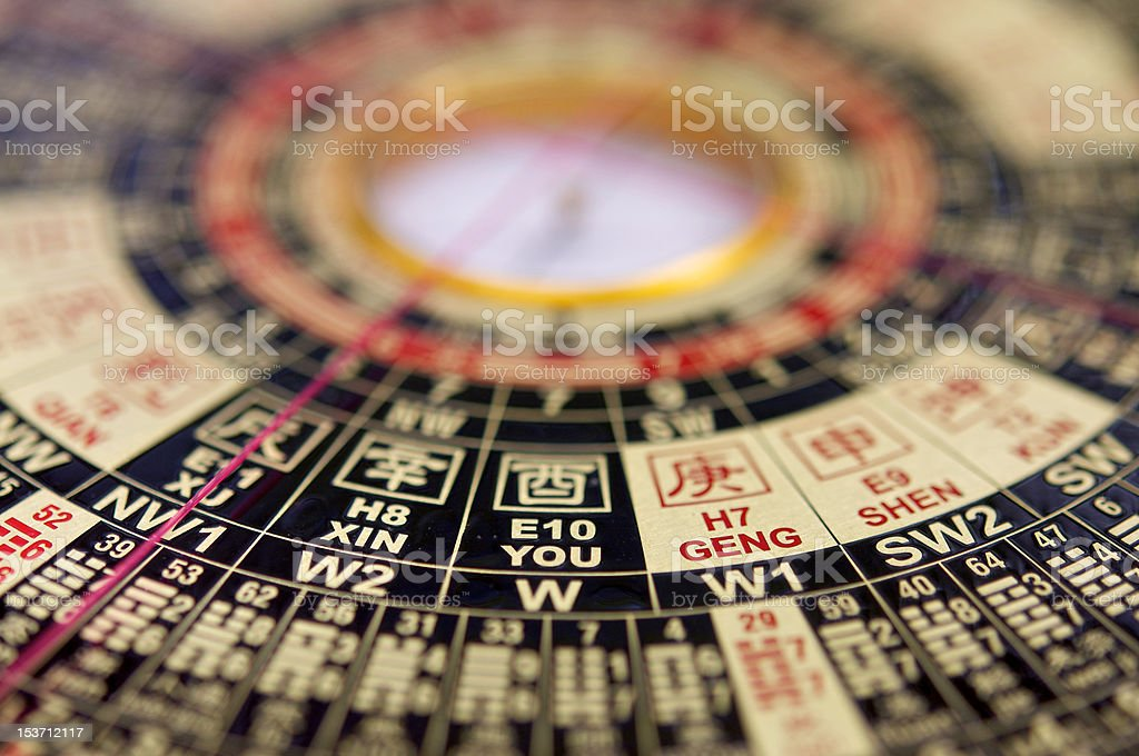 Chinese Feng Shui stock photo