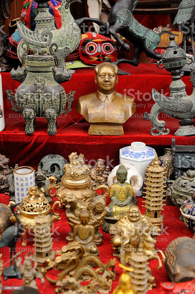 Chinese figurines royalty-free stock photo