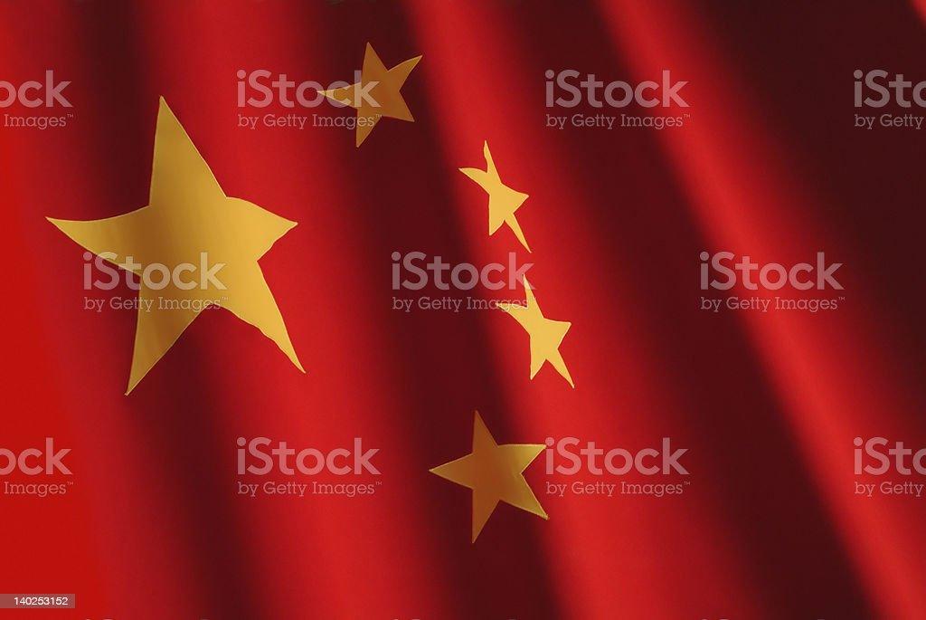 chinese flag stock photo