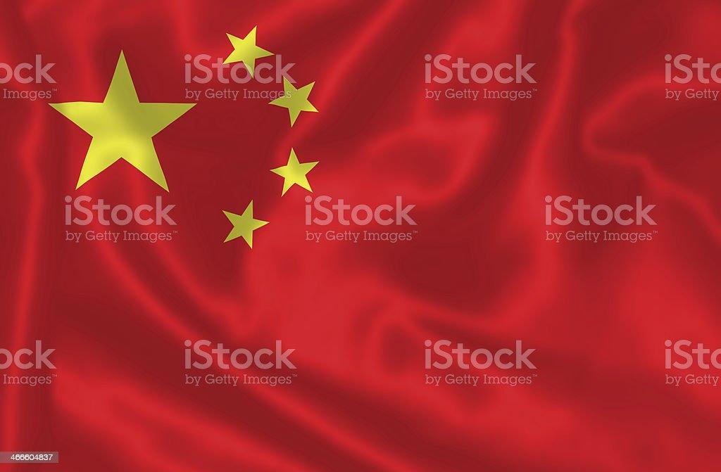 Chinese flag. stock photo