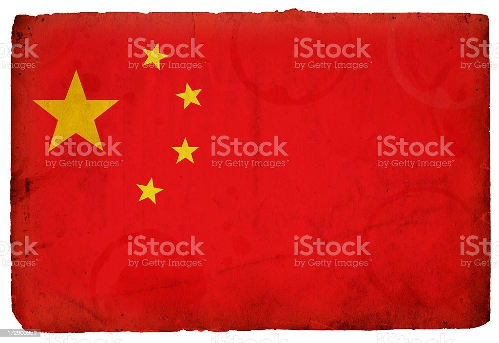 Chinese Flag XXXL royalty-free stock photo