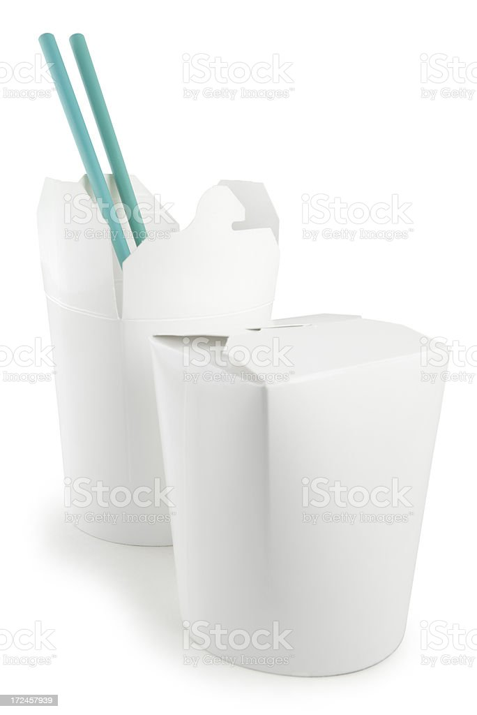 Chinese Food Container royalty-free stock photo