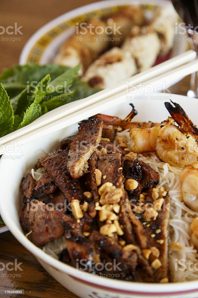 Chinese Food Dinner royalty-free stock photo