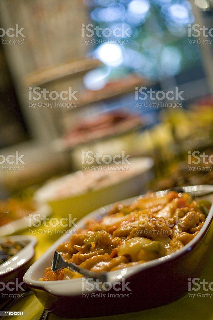 Chinese Food Dish stock photo