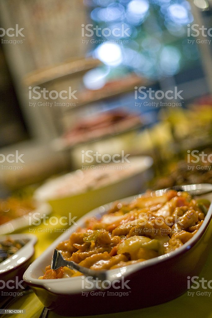 Chinese Food Dish stock photo