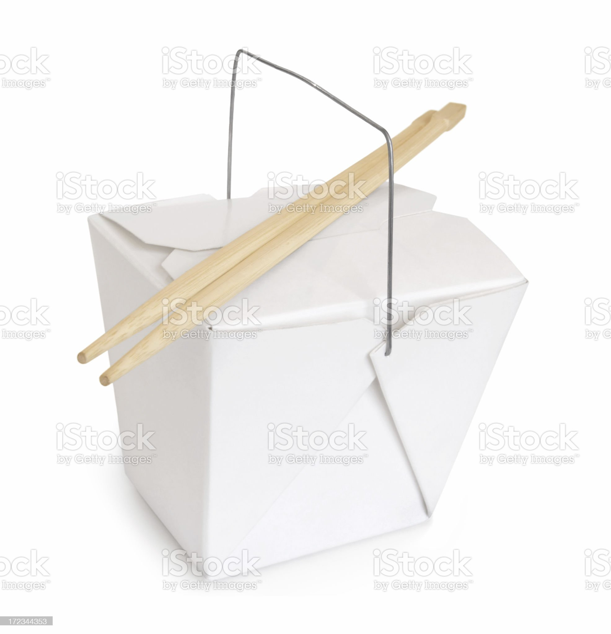 Chinese Food To Go royalty-free stock photo