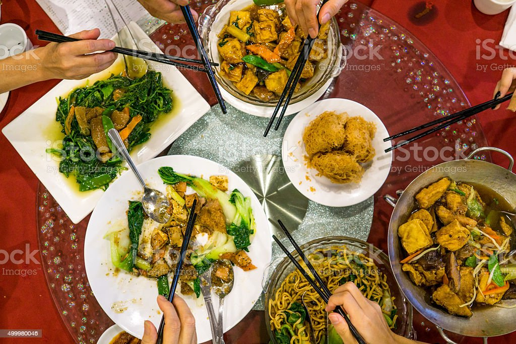 Chinese Foods stock photo