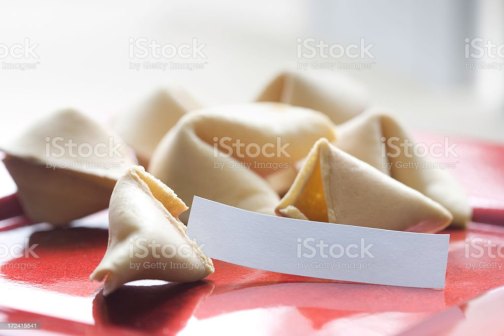 Chinese Fortune Cookies royalty-free stock photo