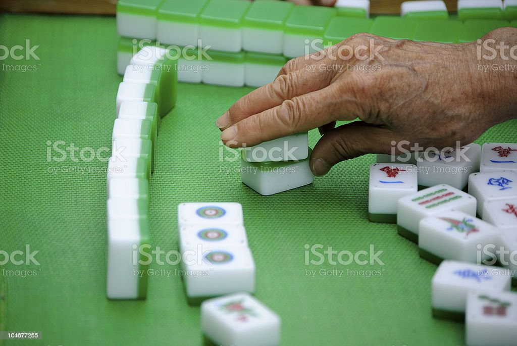 Chinese Game stock photo
