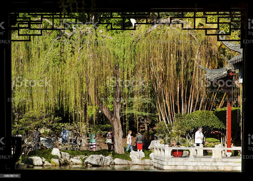 Chinese Garden of Friendship royalty-free stock photo