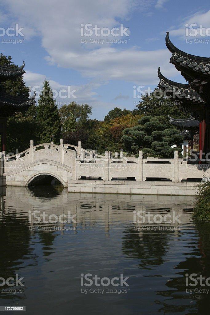 chinese garden royalty-free stock photo
