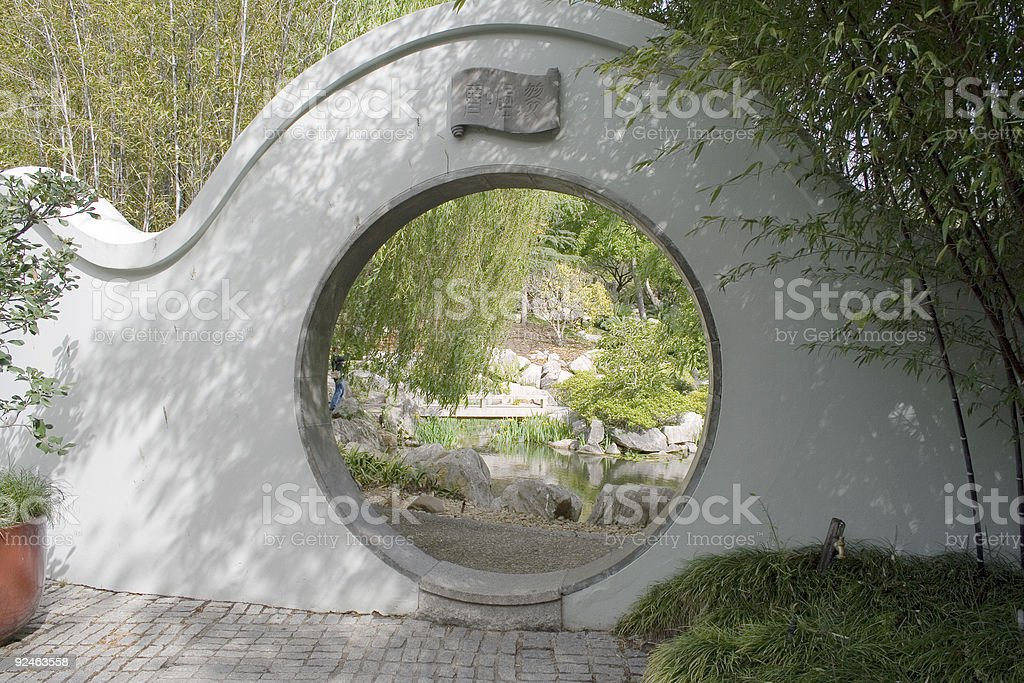 Chinese Garden royalty-free stock photo