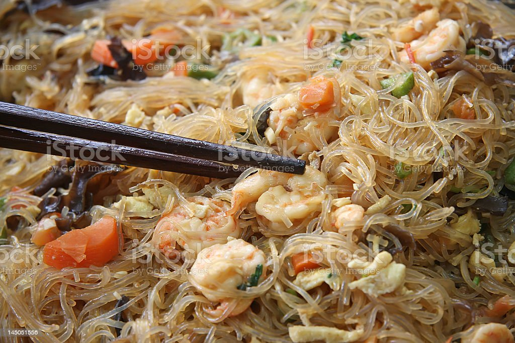 Chinese glass noodles royalty-free stock photo