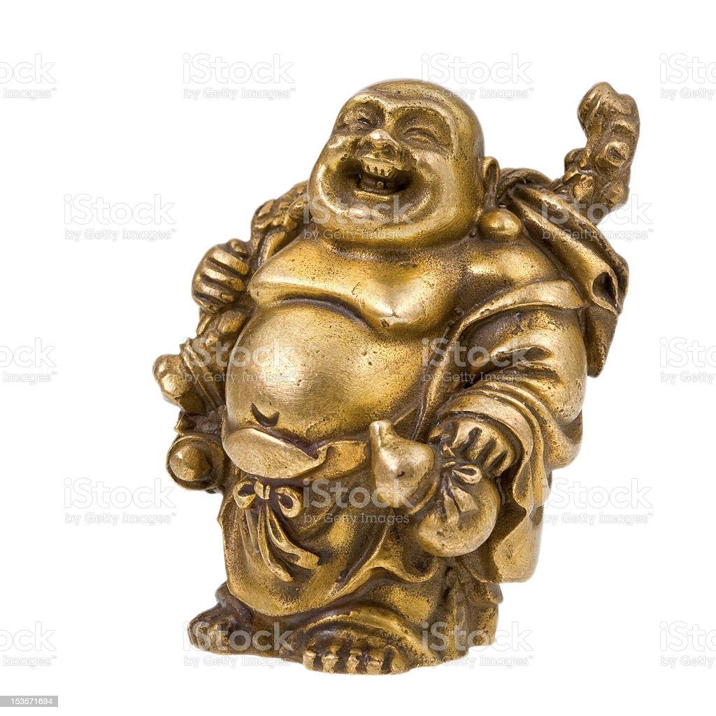 Chinese god - Hotei stock photo