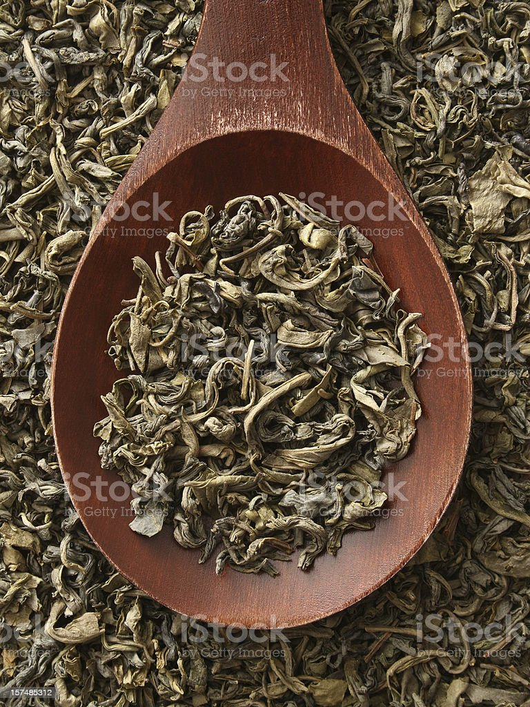 Chinese green tea royalty-free stock photo