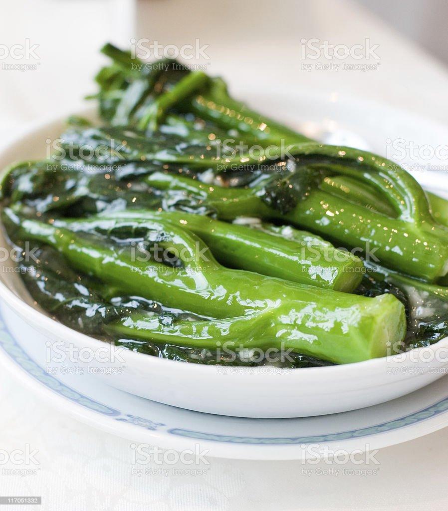 Chinese Greens stock photo
