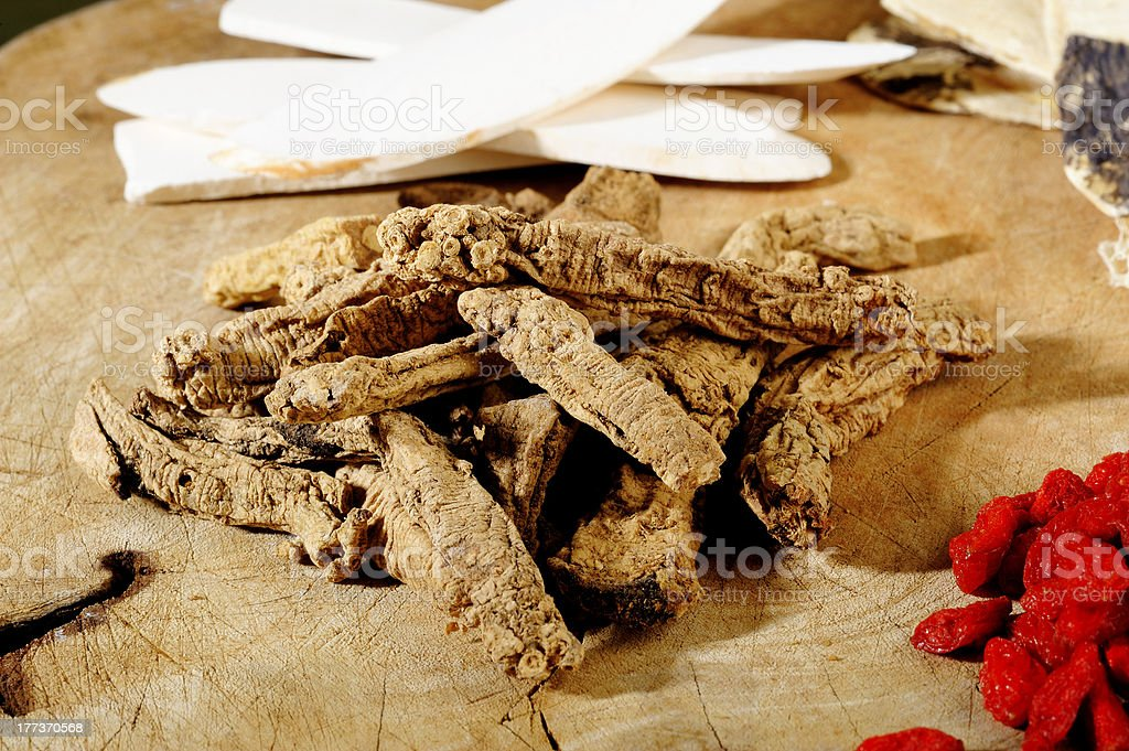 chinese herb royalty-free stock photo