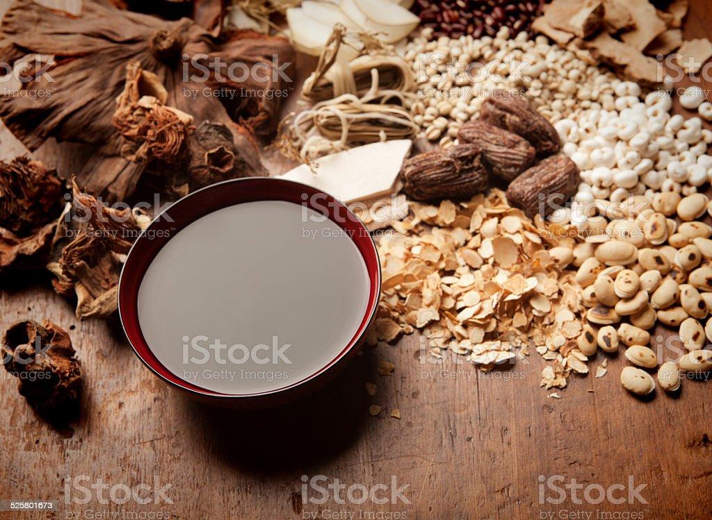 Chinese Herbal Medicine Tonic Tea Hz stock photo