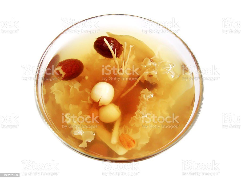 Chinese Herbal Tea royalty-free stock photo