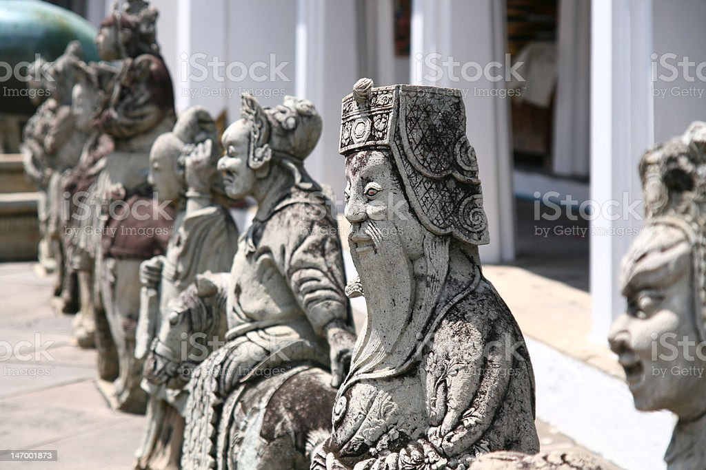 Chinese historical tale stock photo