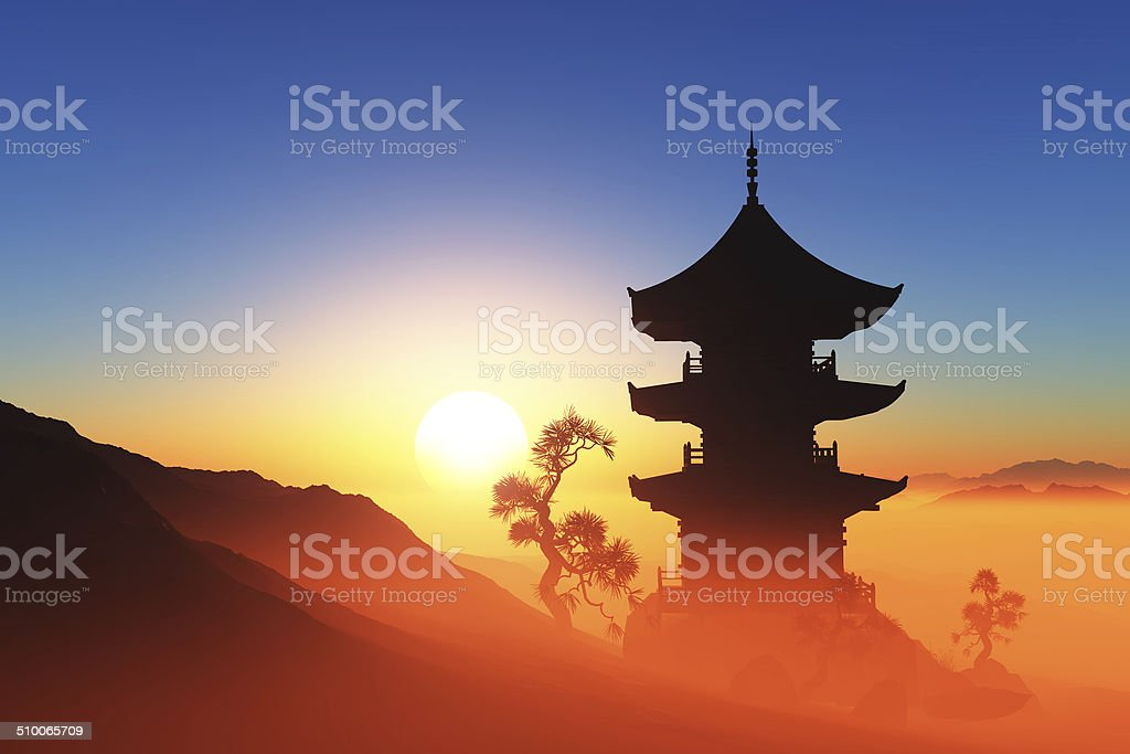 Chinese home stock photo