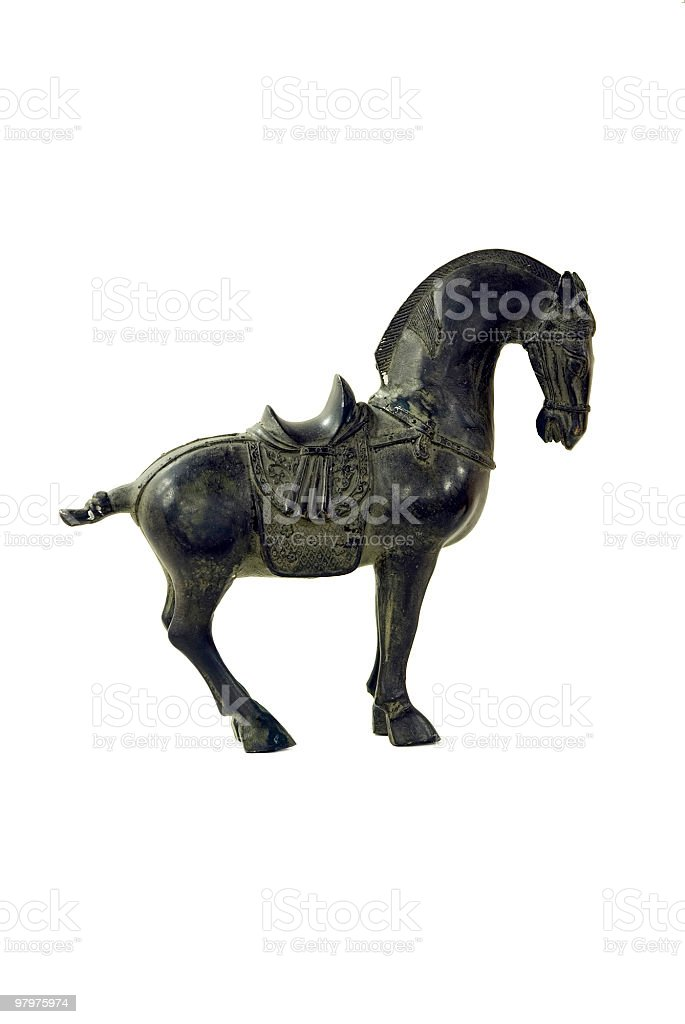 Chinese horse stock photo