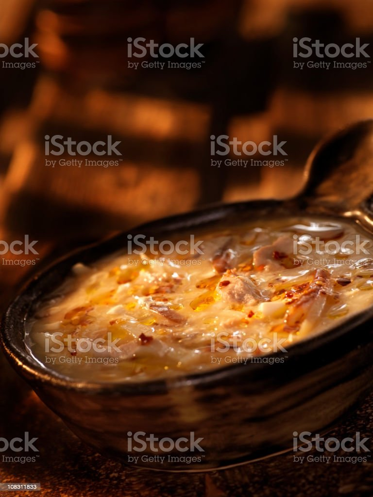Chinese Hot & Sour Soup royalty-free stock photo