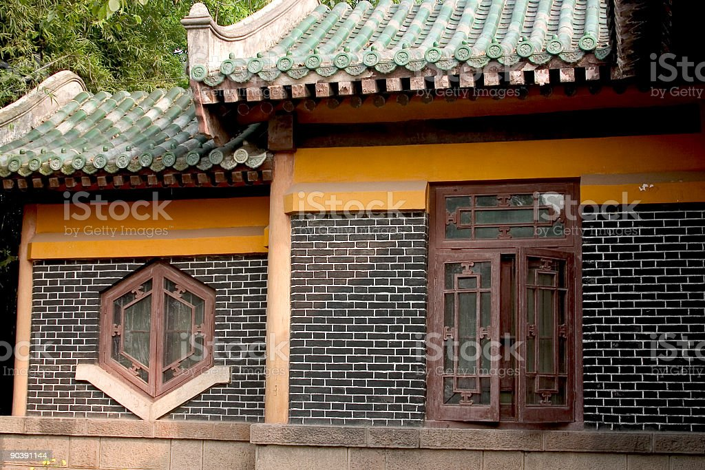 Chinese House royalty-free stock photo