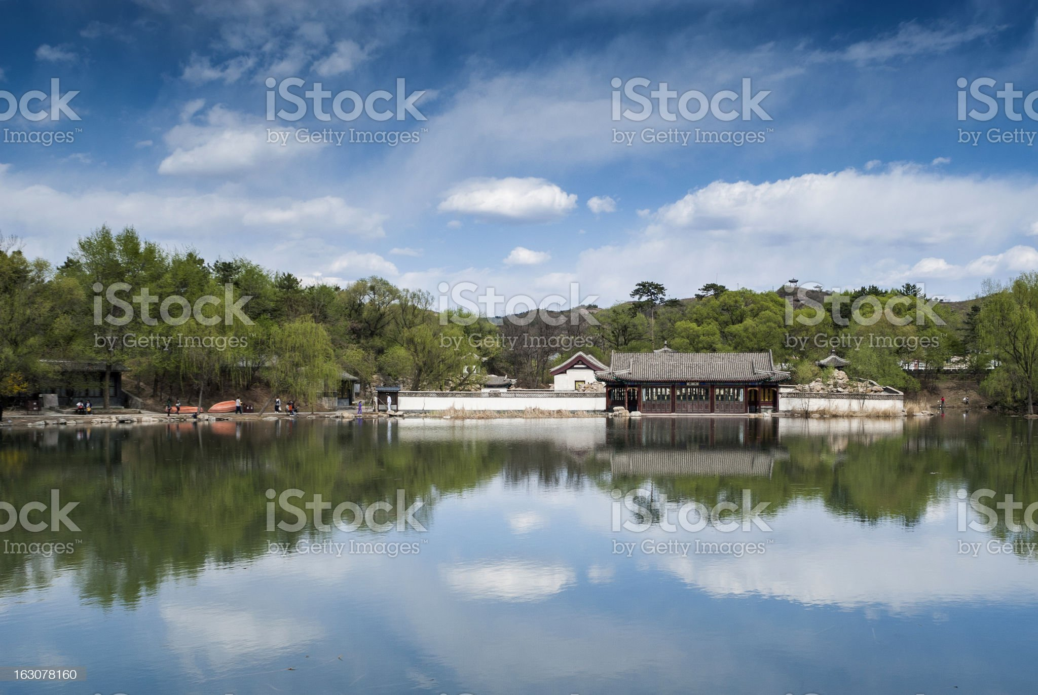 chinese imperial summer palace royalty-free stock photo